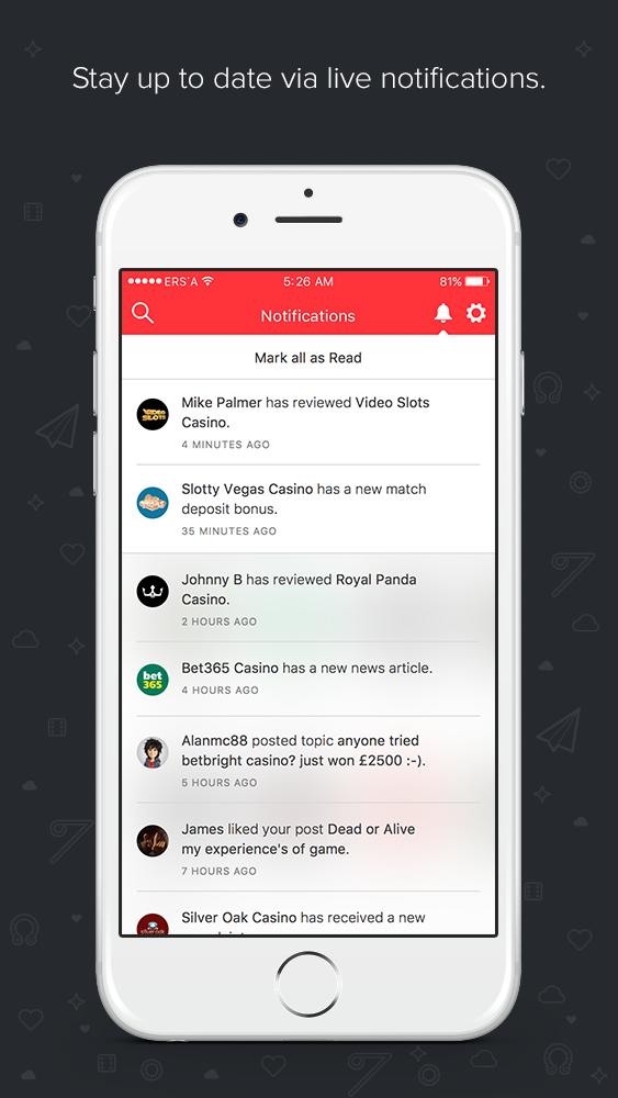 AskGamblers App for iPhone - Screenshot 1